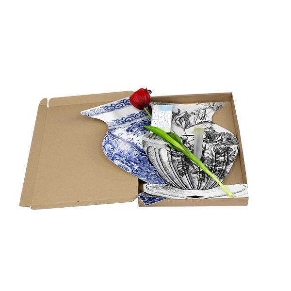 Schreibtischvase Briefkasten